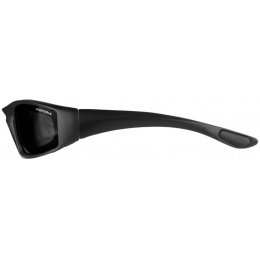 Bobster Foamerz 2 Full Seal ANSI Z87 Rated Eye Protection - Smoke Lens