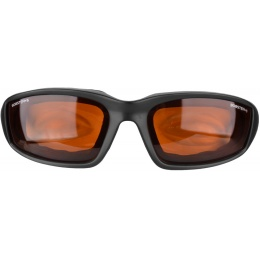 Bobster Foamerz 2 Full Seal Sunglasses ANSI Z87 Rated - AMBER LENS