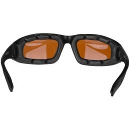 Bobster Foamerz 2 Full Seal Sunglasses ANSI Z87 Rated - AMBER LENS