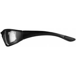 Bobster Foamerz 2 Full Seal Sunglasses ANSI Z87 Rated - CLEAR LENS