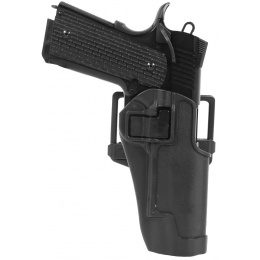 AMA Hard Shell Polymer Fast Draw M1911 Holster - BLK
