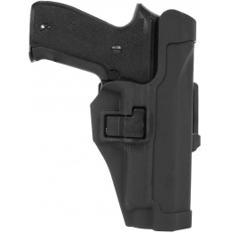 AMA Hard Shell Polymer Quick Draw P226 Holster - BLACK