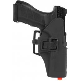 G-Force Hard Shell CQC Pistol Holster for G16/ G17/G18C/ G23 - BLACK