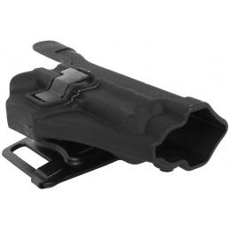 G-Force Hard Shell CQC Pistol Holster for G16/ G17/G18C/ G23 - BLACK