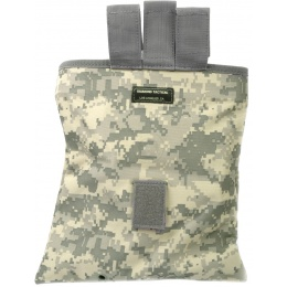 G-Force MOLLE Large Roll-Up Dump Pouch w/ Drawstring Closure - ACU
