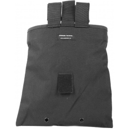 G-Force MOLLE Large Roll-Up Dump Pouch w/ Drawstring Closure - BLACK