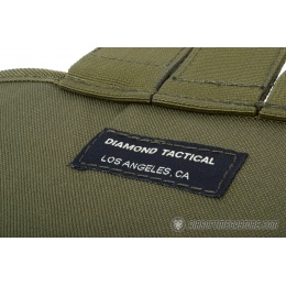 G-Force MOLLE Large Roll-Up Dump Pouch w/ Drawstring Closure - OD