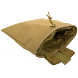 G-Force MOLLE Large Roll-Up Dump Pouch w/ Drawstring Closure - TAN