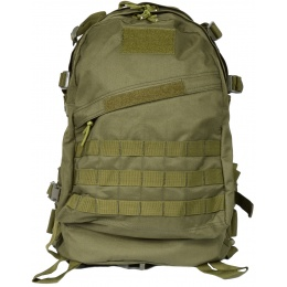 G-Force MOLLE Assault Backpack - OD GREEN