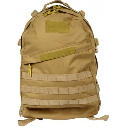 G-Force MOLLE Assault Backpack - TAN