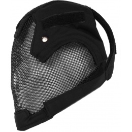 Black Bear BLADE Steel Mesh 1000D Airsoft Full Face Mask - BLACK