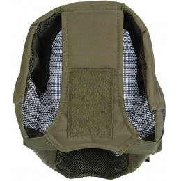Black Bear BLADE Steel Mesh 1000D Airsoft Full Face Mask - OD GREEN