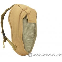 Black Bear Airsoft BLADE Steel Mesh Wrap-Around Face Mask - TAN