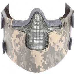 Black Bear RAVEN Steel Mesh Padded Face Airsoft Mask - ACU