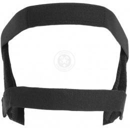 Black Bear RAVEN Steel Mesh Padded Airsoft Face Mask - BLACK