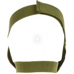 Black Bear Airsoft VENOM Tactical Mesh Lower Face Mask - WOODLAND