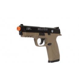 Cybergun KWC Airsoft Licensed Smith & Wesson M&P40 Pistol - DARK EARTH