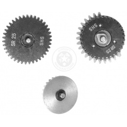 SHS X-Mod Airsoft SR-25 AEG High Torque Reinforced Steel Gear Set