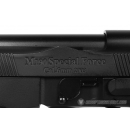 HFC M92F XLFull Metal Airsoft Gas Blowback Extended Length Pistol