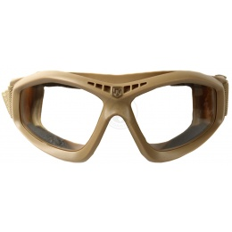 Revision Bullet Ant Ballistic Goggles w/ Smoke & Clear Lenses - TAN