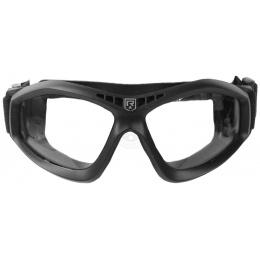 Revision Bullet Ant Ballistic Goggles w/ Clear Lenses - BLACK