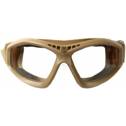 Revision Bullet Ant Ballistic Goggles w/ Clear Lenses - TAN