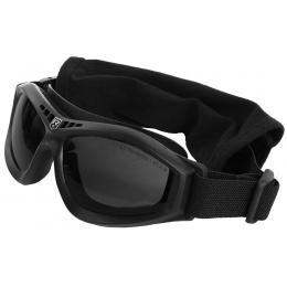 Revision Bullet Ant Ballistic Goggles w/ Solar Lenses - BLACK