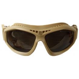 Revision Bullet Ant Ballistic Goggles w/ Solar Lenses - TAN
