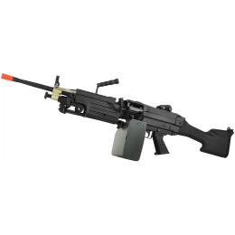 A&K Full Metal M249 MKII Airsoft Machine Gun AEG Rifle - SAW