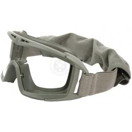 Revision Desert Locust Ballistic Goggles w/ Clear Lens - FOLIAGE GREEN