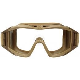 Revision Desert Locust Ballistic Clear Goggle System Basic Kit - TAN