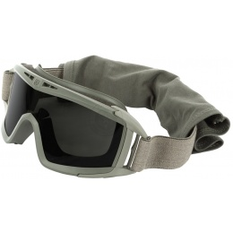 Revision Desert Locust Ballistic Goggles w/ Solar Lens - FOLIAGE GREEN