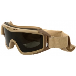 Revision Desert Locust Ballistic Solar Goggle System Basic Kit - TAN