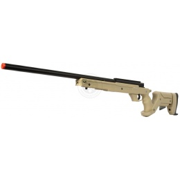 WellFire SR22 Full Metal Bolt Action Type 22 Sniper Rifle - DARK EARTH