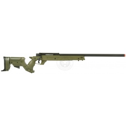 WellFire SR22 Full Metal Bolt Action Type 22 Sniper Rifle - OD GREEN