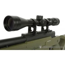 425 FPS WellFire SR22 Airsoft Sniper Rifle w/ Scope and Bipod - OD