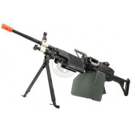 A&K M249 MKI Full Metal Airsoft AEG Machine Gun w/ Bipod - SAW