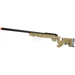 WellFire SR22 Full Metal Type 22 Bolt Action Sniper Rifle - DARK EARTH