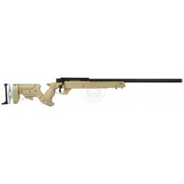 WellFire SR22 Full Metal Type 22 Bolt Action Sniper Rifle - DARK EARTH