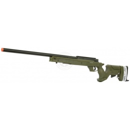 WellFire SR22 Full Metal Type 22 Bolt Action Sniper Rifle - OD GREEN