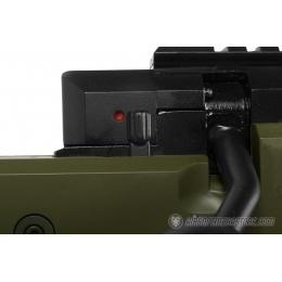 WellFire SR22 Full Metal Type 22 Bolt Action Sniper Rifle - OD GREEN