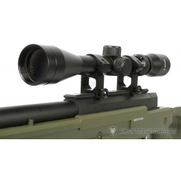 WellFire SR22 Bolt Action Type 22 Sniper Rifle w/ Scope & Bipod - OD