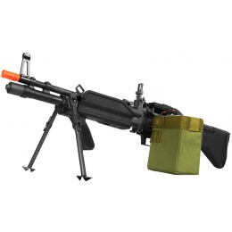 A&K Airsoft Full Metal MK43 AEG Squad Automatic Rifle