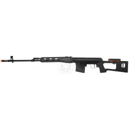 500 FPS A&K SVD Bolt Action SSR [Specialized Sniper Rifle] in Black