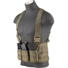 Flyye Industries 1000D Law Enforcement Chest Rig - RANGER GREEN