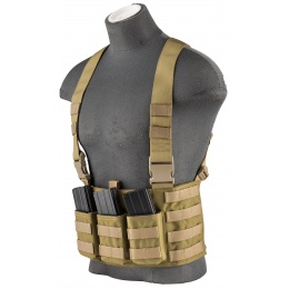Flyye Industries 1000D Cordura Law Enforcement Chest Rig - KHAKI