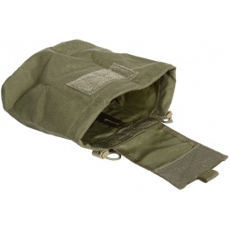 Flyye Industries 1000D Cordura MOLLE Roll-Up Drop Pouch - RANGER GREEN