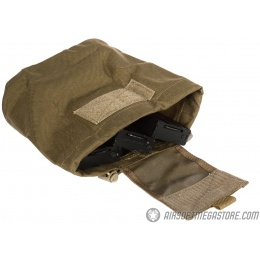 Flyye Industries 1000D Cordura MOLLE Roll-Up Drop Pouch - COYOTE BROWN