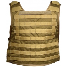 Flyye Industries 1000D Cordura MOLLE PC Plate Carrier - COYOTE BROWN