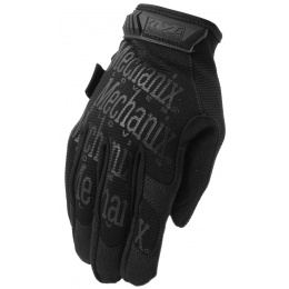 Mechanix Original Stealth Covert Gloves w/ TPR Strap (LARGE) - BLACK